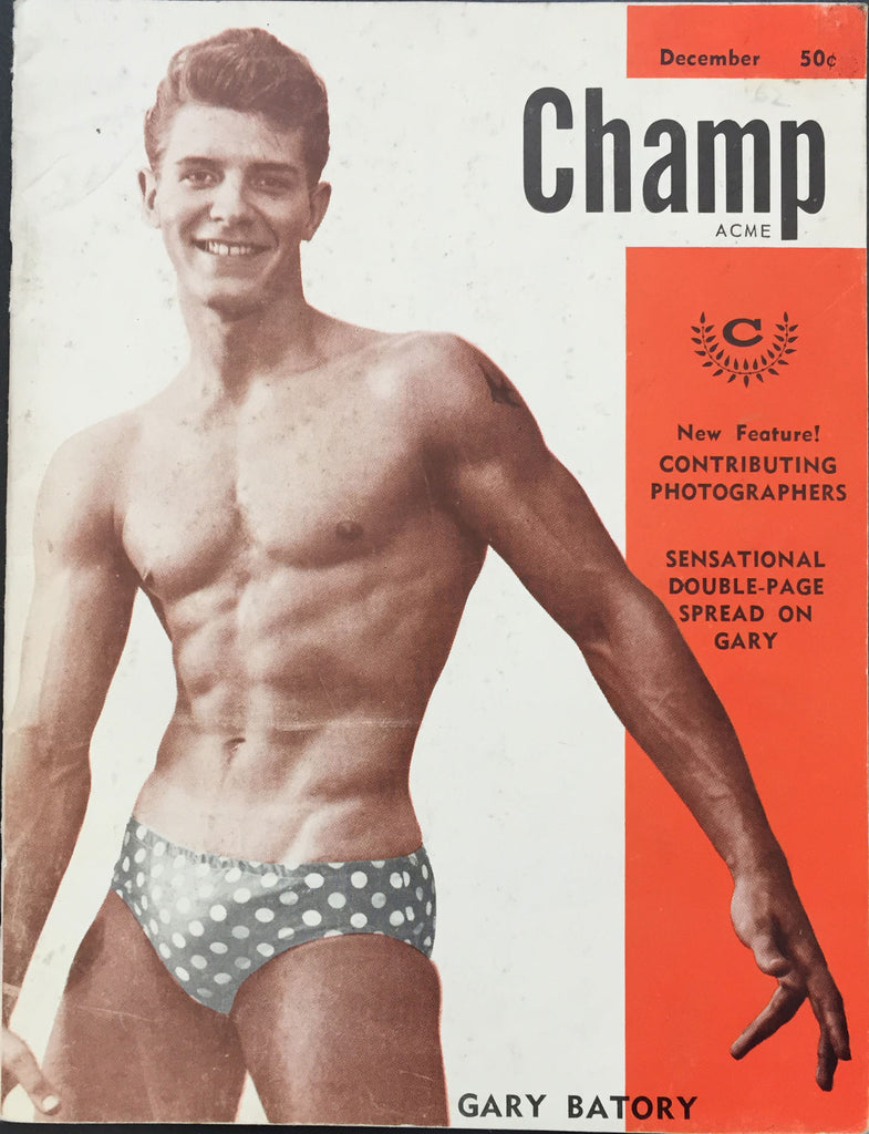 Champ Vintage Physique Magazine