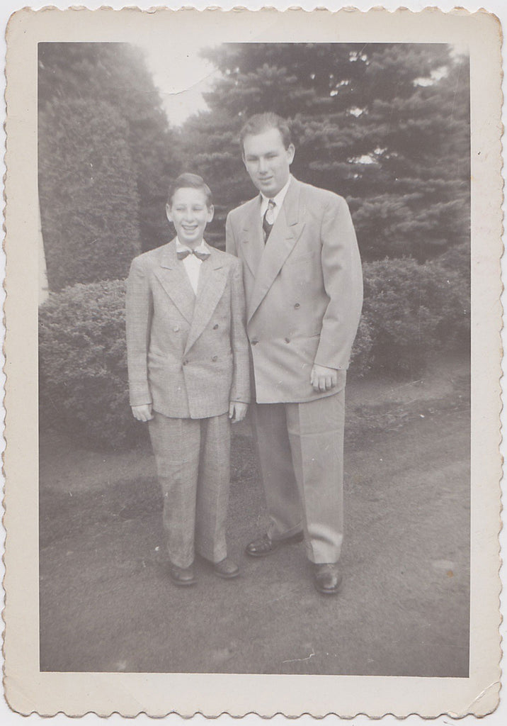 Dapper Dad and Son