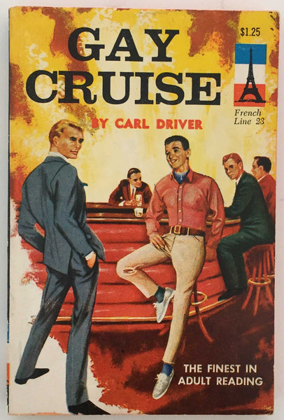 Gay Cruise Vintage pulp novel French Line 23