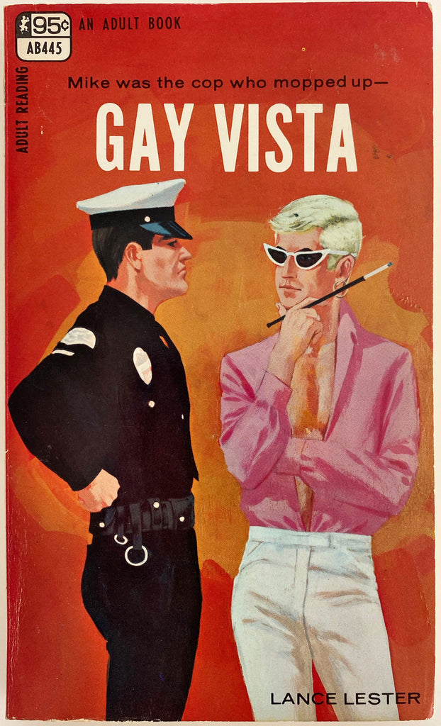 Gay Vista  Vintage Gay Pulp Novel by Lance Lester