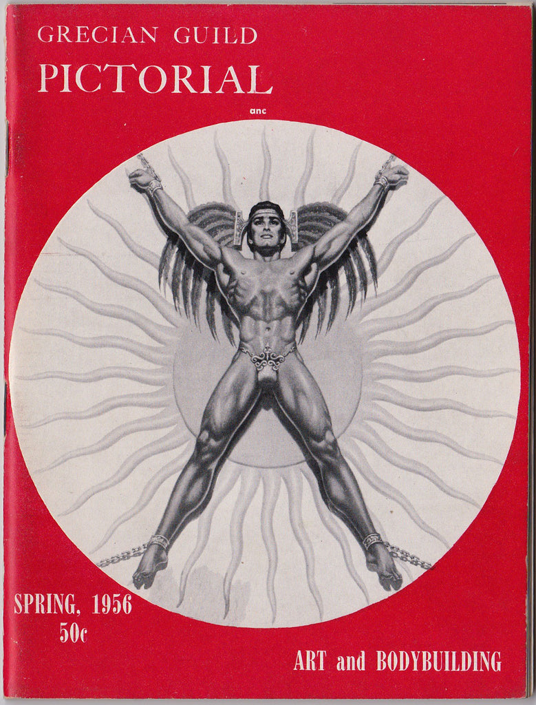 Grecian Guild Pictorial, Art and Bodybuilding Spring 1956, Vol. 1, No. 3.