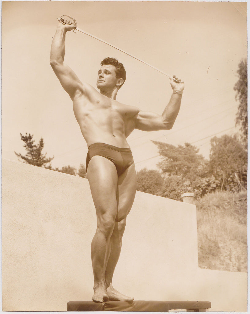 Denny of SF: Vintage Physique Photo Vince Gironda