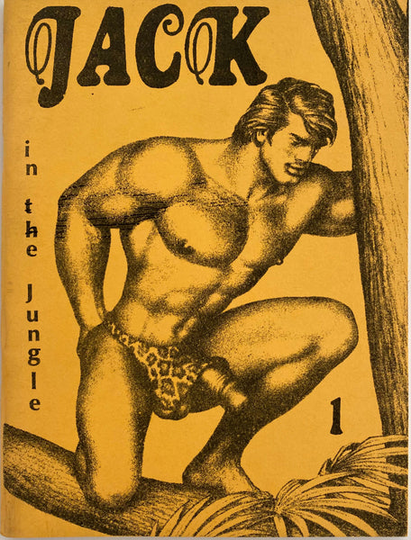 Jack in the Jungle 1  Illustrated by Tom of Finland Undated c. 1970s