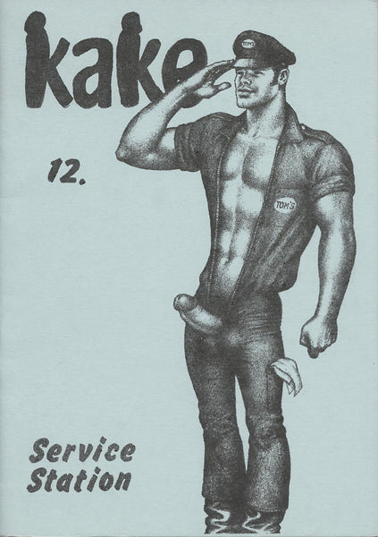 Kake 12: Vintage Tom of Finland Illustrated Magazine