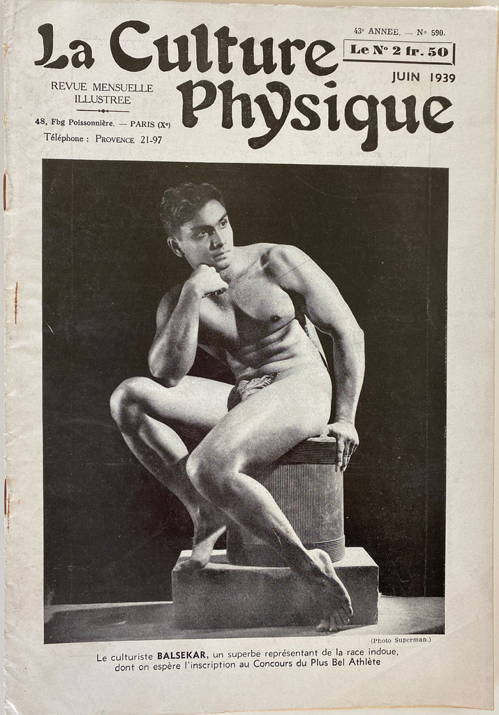 La Culture Physique: Vintage French Magazine