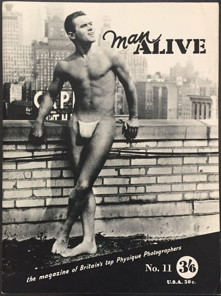 Man Alive Vintage Physique Magazine