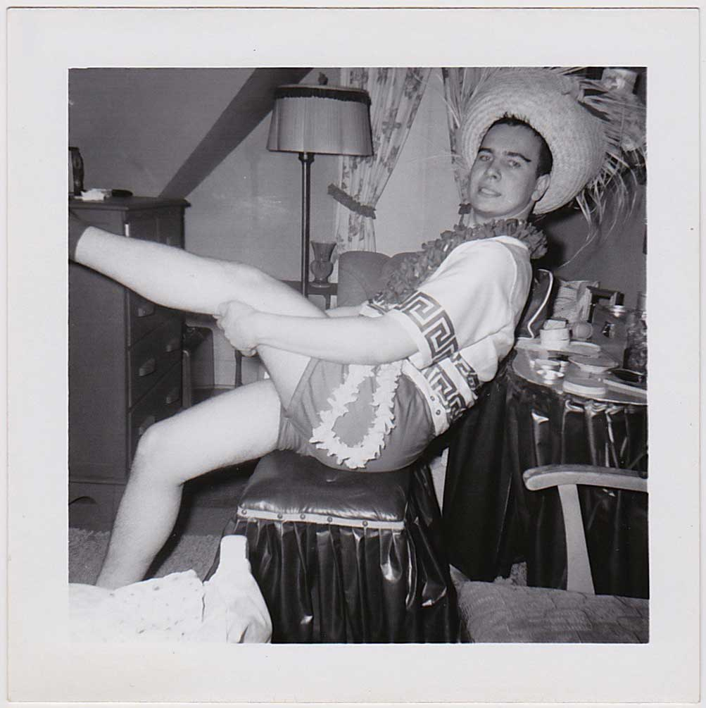 Man with Big Legs: Vintage Gay Interest Photo