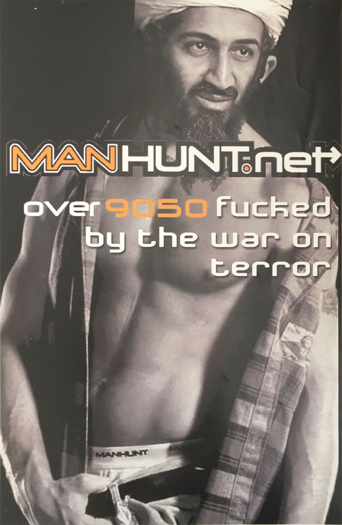Manhunt Bin Laden Poster