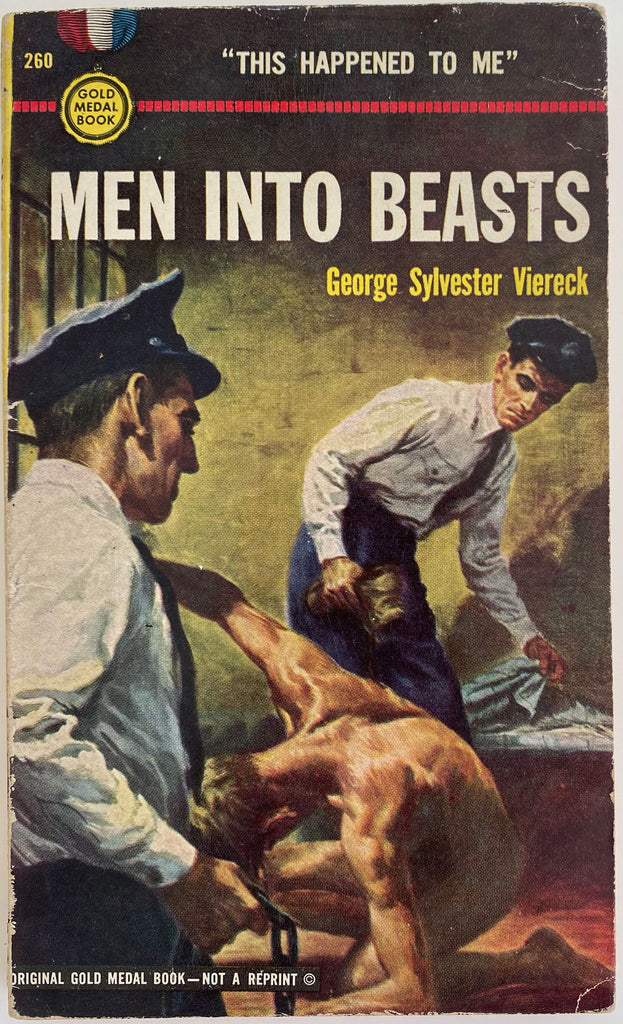 Men Into Beasts: Vintage Gay Memoir