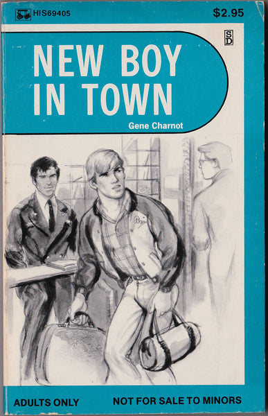 New Boy in Town, vintage gay pulp novel