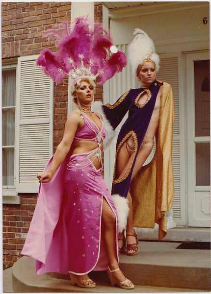 Mardi Gras Drag Queens: Vintage Gay Photo