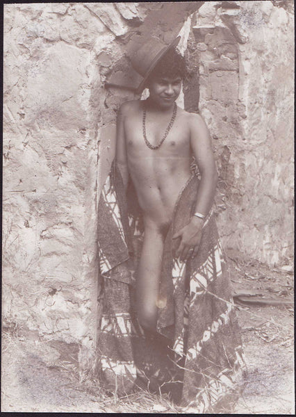 Edward McAndrews Male Nude Wrapped in Blanket