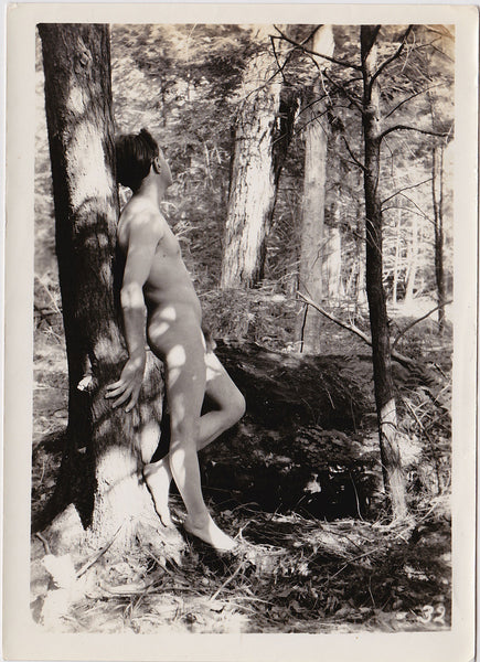Anonymous Male Nude in Forest