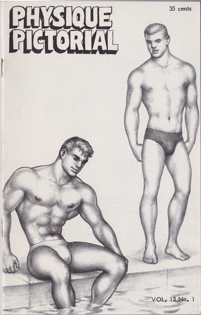 Physique Pictorial, Vol 13, No. 1 (Released Aug 1963)