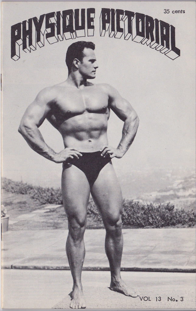 Physique Pictorial, Vol 13, No. 3 (Released February 1963)