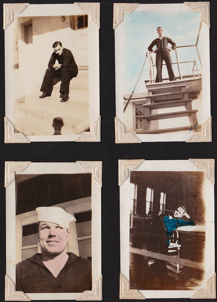 Eight Snapshots of Sailors (2)