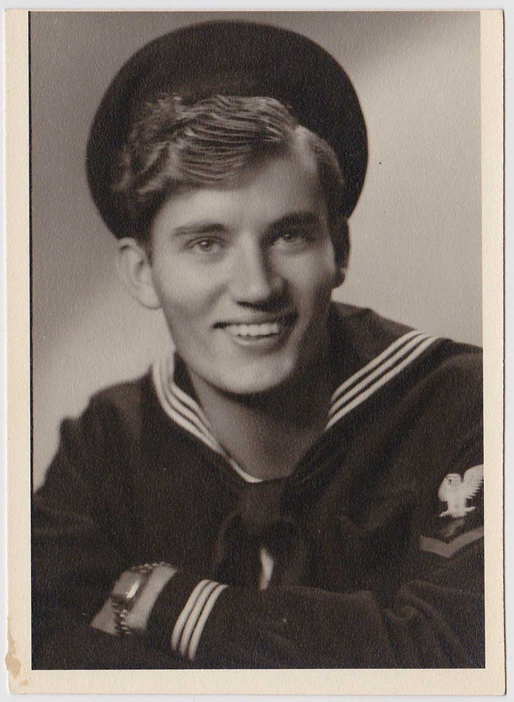 Smiling Sailor: Vintage Gay Interest Photo