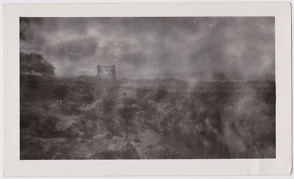 Apocalyptic Landscape vintage photo