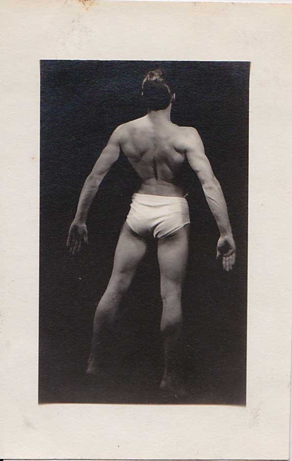 Vintage Anonymous Bodybuilder