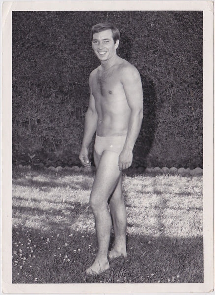 vintage physique photo To Ron With Love, Steve