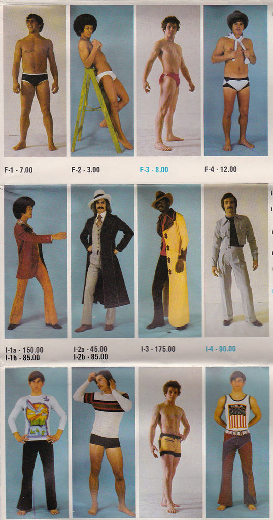 The Town Squire: Gay Fashion Catalog