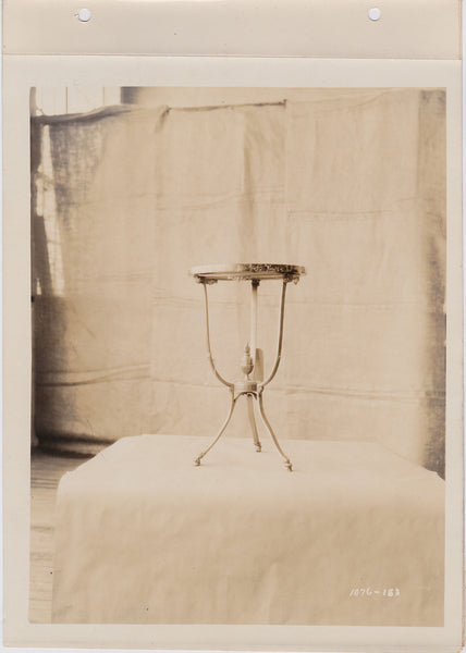 Altman Collection: Marble-topped Table vintage sepia photo
