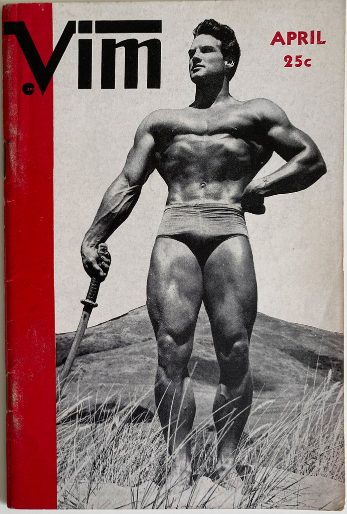 Vim, America's Best Built Physiques  April 1956, Vol III, No. 4.