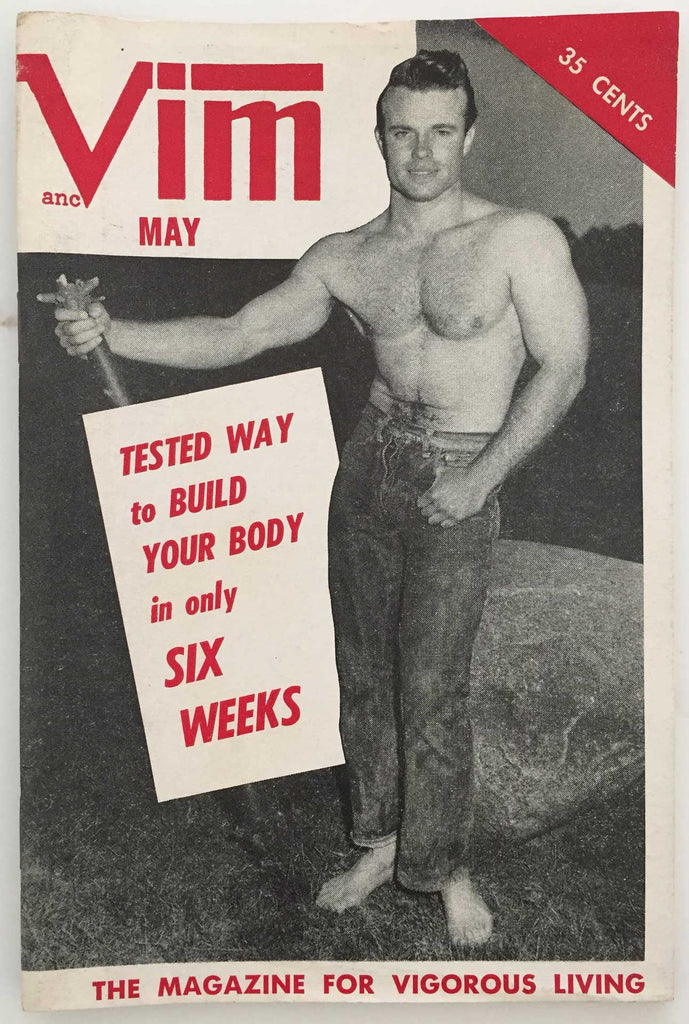 Vim vintage physique magazine May 1957