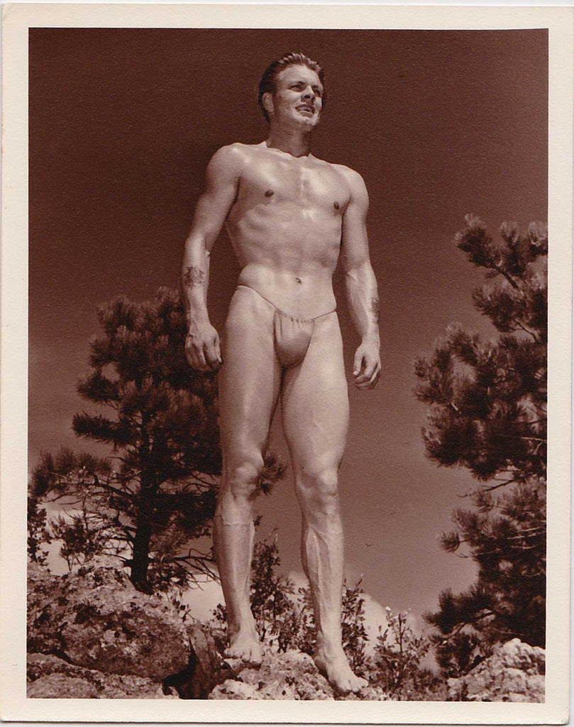 Early vintage photo by Don Whitman / Western Photography Guild. The model is Bill Keenan.