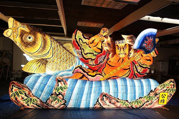 Nebuta Arts Behind the Scenes: How to Make a Nebuta Float