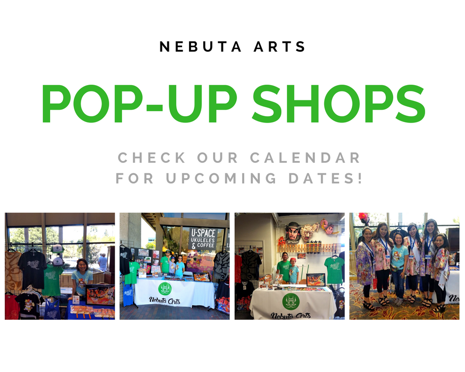 Nebuta Arts Pop-Up Shops