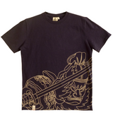 Nebuta Outline Cotton Shirt - Nebuta Arts