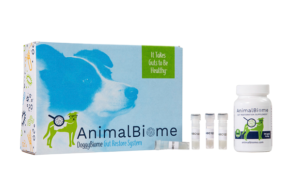 DoggyBiome: Gut Restore System (Two Tests, 60 Capsules, Raw Donor)