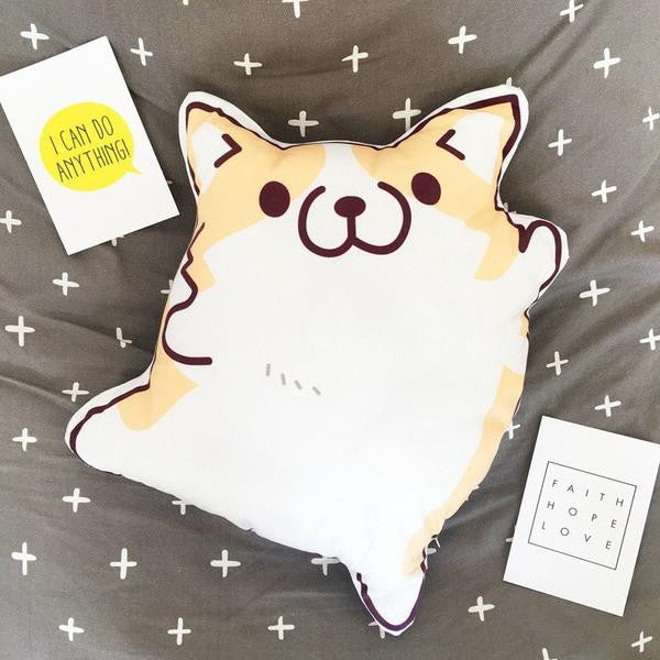 Corgi Plush Pillow