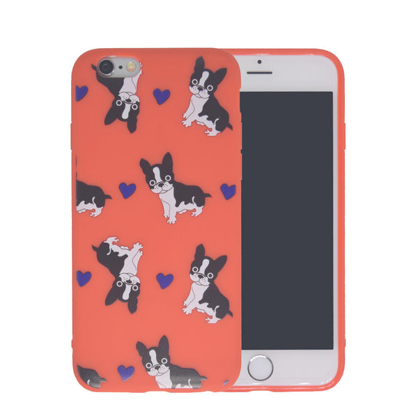 Frenchie Heart iPhone Case