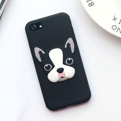 Black Frenchie iPhone Case