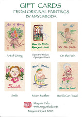 ART OF GIVING CARDS—SET of 6