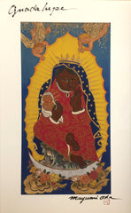 Guadalupe, Giclee' from the Large Thangka Painting