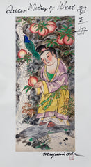 Queen Mother of the West, Giclée from Large Thangka Painting