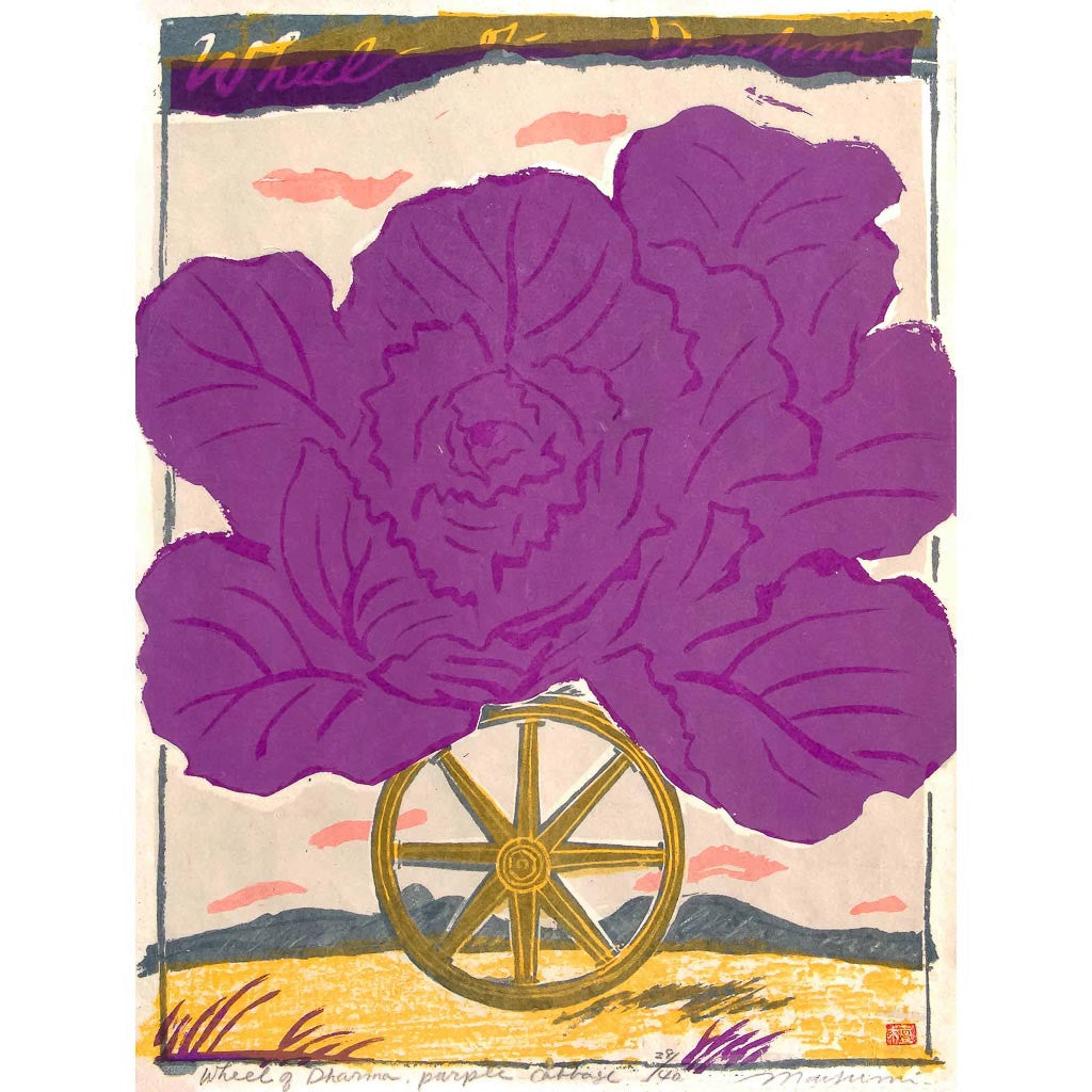 Wheel of Dharma, Purple Cabbage