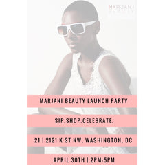 Marjani Beauty Launch Party