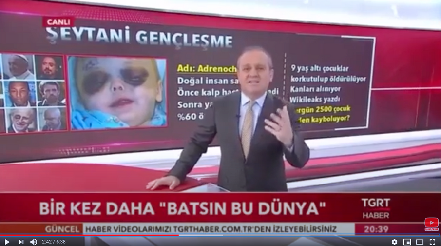 Turkish News Report on Adrenochrome