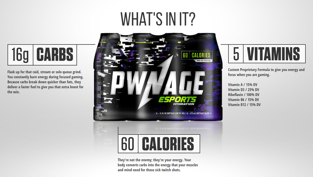 Pwnage Energy Sports Drink is a Game Changer in eSports Hydration