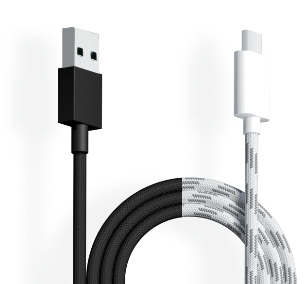 Lightweight Paracord USB-C Cable