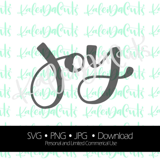 Joy Lettering Digital Download