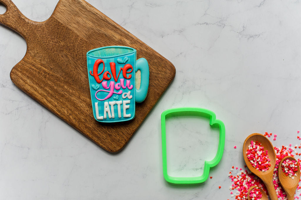 Tall Latte Mug Cookie Cutter