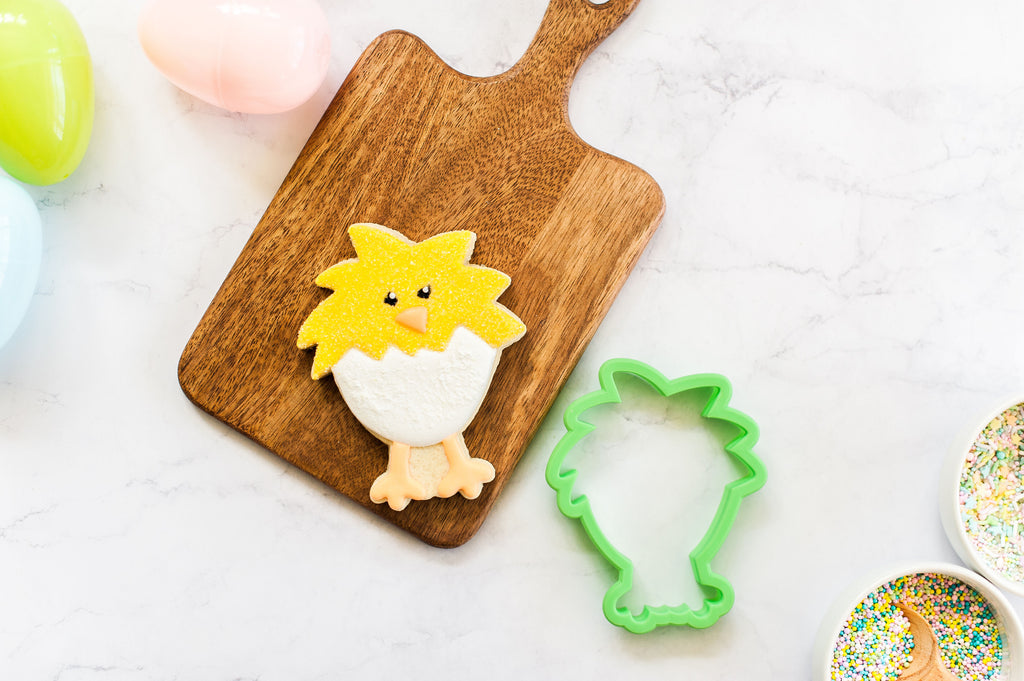 Fluffy Hatched Chick Cookie Cutter