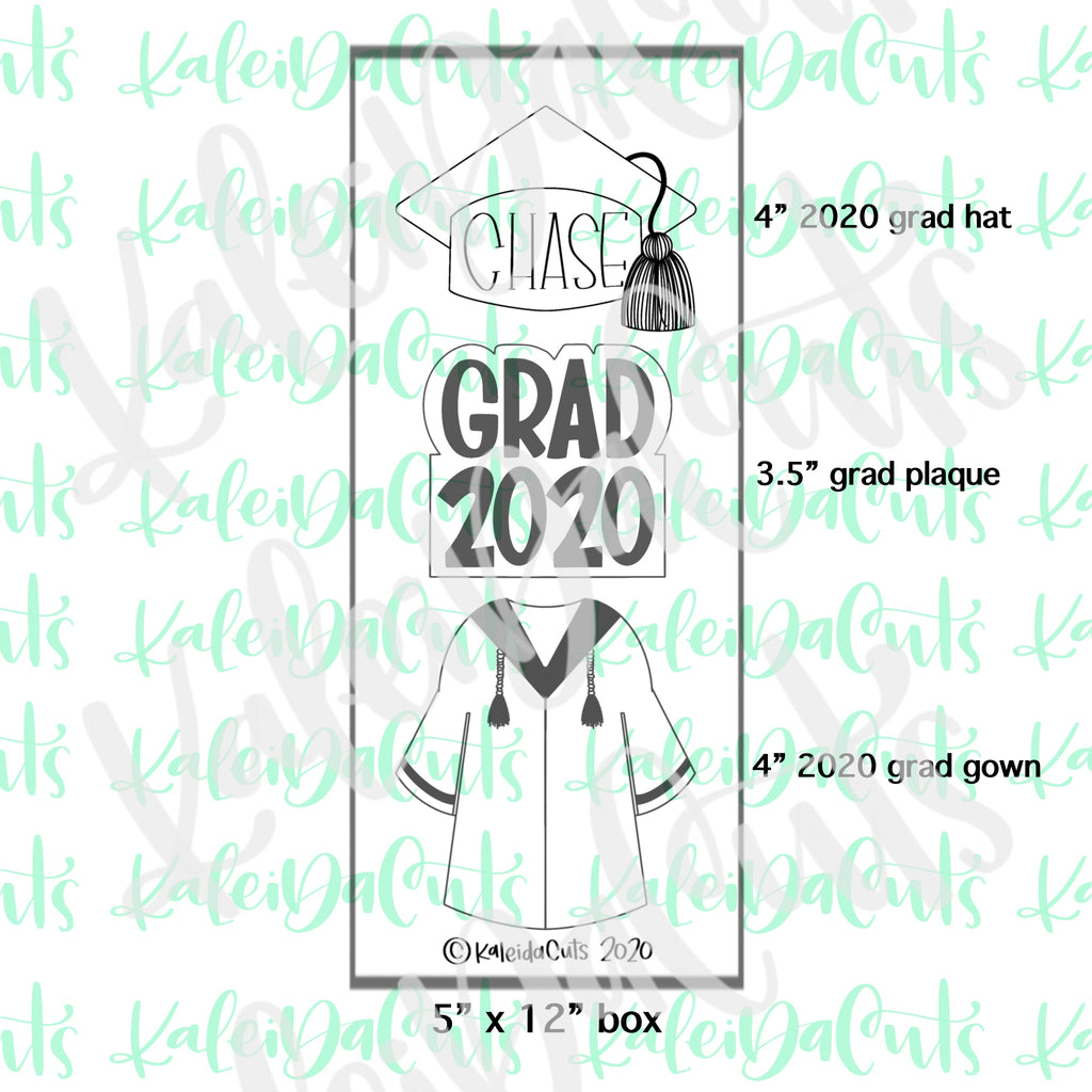 Grad Gown 2020 Cookie Cutter