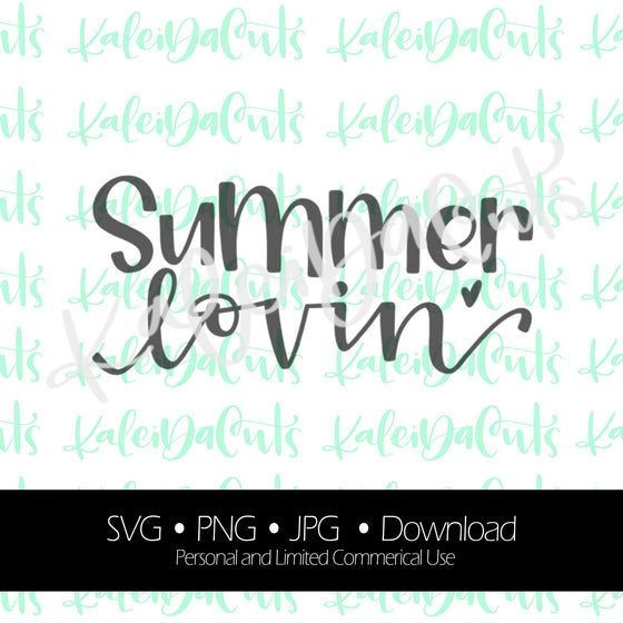 Summer Lovin Digital Download.