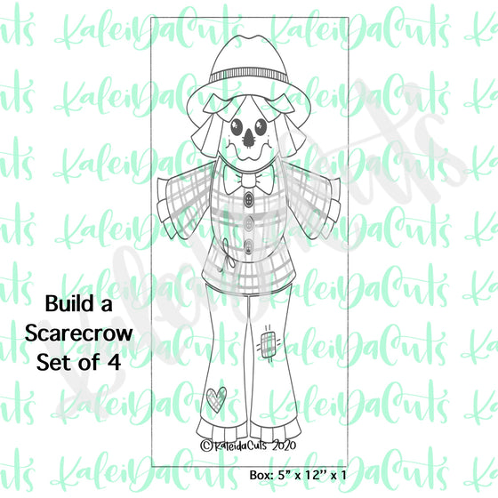 Build a Scarecrow Set - 4 Cookie Cutters